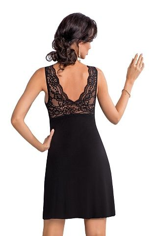 Chantal nightdress Black, don_chantal nightdress black, donna, Польша