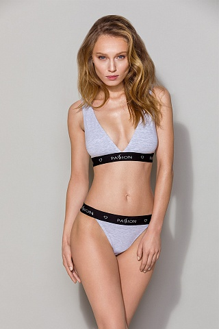 PS015 top Grey, pas_ps015 top grey, passion lingerie, Польша