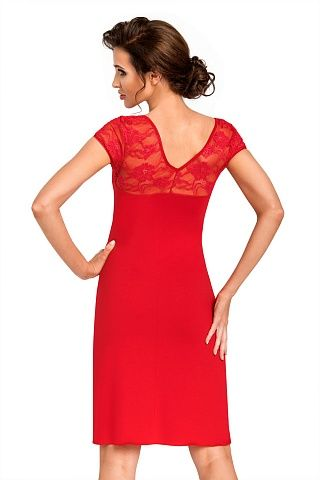 Brigitte nightdress Red, don_brigitte nightdress red, donna, Польша
