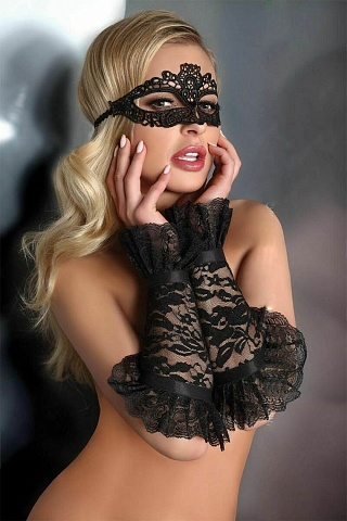 LC 28011 gloves model 13 Black, livco_lc 28011 gloves model 13 black, livco corsetti fashion, Польша