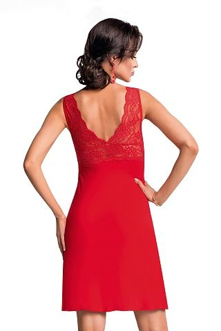 Chantal nightdress Red, don_chantal nightdress red, donna, Польша