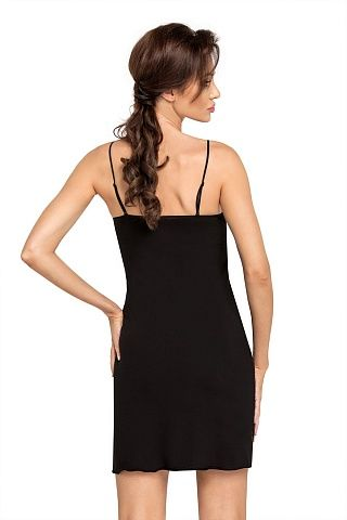 Brigitte II nightdress Black, don_brigitte ii nightdress black, donna, Польша
