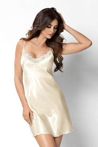 Sylvia nightdress Ecri, don_sylvia nightdress ecri, donna, Польша
