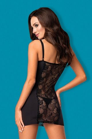 Heartina chemise Black, obs_heartina chemise black, obsessive, Польша