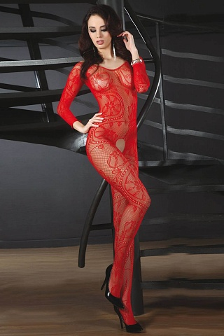 LC 17086 Abra bodystocking Red, livco_lc 17086 abra bodystocking red, livco corsetti fashion, Польша