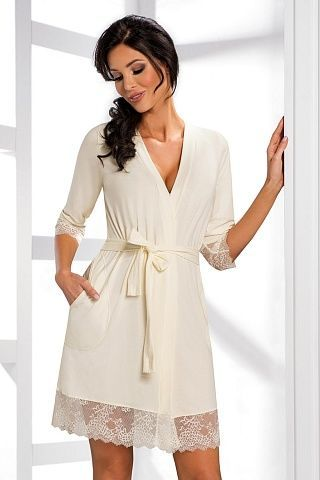 Hana dressing gown Ecri, don_hana dressing gown ecri, donna, Польша