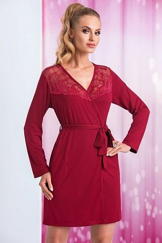 Taylor dressing gown Burgundy, don_taylor dressing gown burgundy, donna, Польша