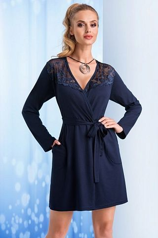 Taylor dressing gown Dark Blue, don_taylor dressing gown dark blue, donna, Польша