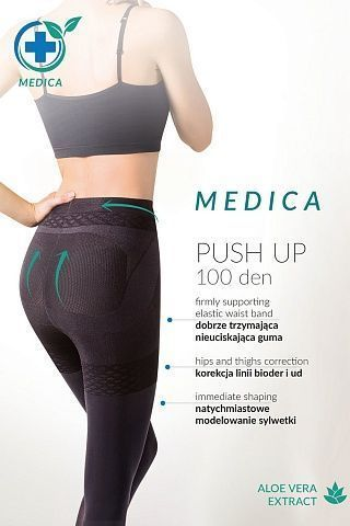 171 Medica Push-Up 100 den Nero